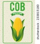 organic healthy food design  ... | Shutterstock .eps vector #233815180
