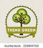 eco design   vector... | Shutterstock .eps vector #233844763
