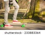 longboarding   Shutterstock . vector #233883364