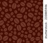 dark brown seamless pattern... | Shutterstock .eps vector #233885446