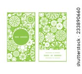 vector abstract green and white ... | Shutterstock .eps vector #233890660