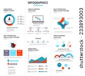 big set of infographic elements.... | Shutterstock .eps vector #233893003