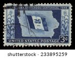 united states   circa 1946  a... | Shutterstock . vector #233895259