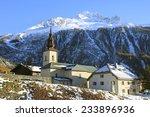 Church  Argentiere  Chamonix ...