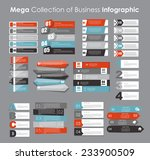 infographic templates for... | Shutterstock .eps vector #233900509