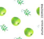 vector watercolor seamless hand ...   Shutterstock .eps vector #233902948