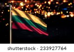 lithuania national flag city... | Shutterstock . vector #233927764