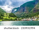 scenic summer panorama of the... | Shutterstock . vector #233931994