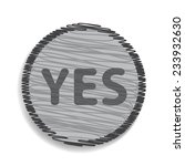 yes icon | Shutterstock .eps vector #233932630