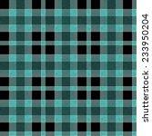 blue tartan seamless background  | Shutterstock . vector #233950204