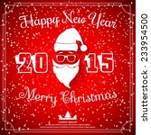 happy new year and merry...   Shutterstock .eps vector #233954500