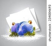 christmas balls design   Shutterstock .eps vector #234004693