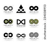infinity symbols  2    Shutterstock .eps vector #234038953