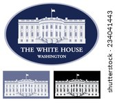 White House   Detailed Vector...