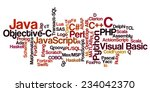 conceptual tag cloud containing ... | Shutterstock .eps vector #234042370