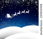 Winterscene   Christmas Card  ...
