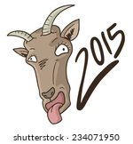 goat year   Shutterstock .eps vector #234071950