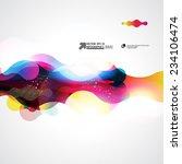 abstract vector background | Shutterstock .eps vector #234106474