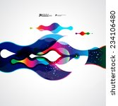 abstract vector background | Shutterstock .eps vector #234106480