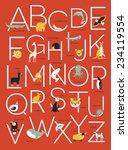 Illustrated Animal Alphabet...