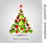 Vector Merry Christmas Tree...
