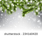winter abstract background with ...