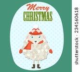merry christmas | Shutterstock .eps vector #234160618