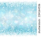 winter background | Shutterstock .eps vector #234164536
