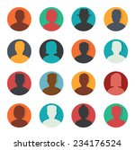 set of avatar | Shutterstock .eps vector #234176524