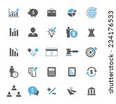 business and finance icon set | Shutterstock .eps vector #234176533