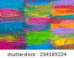 abstract art background. hand... | Shutterstock . vector #234185224