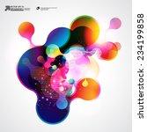 abstract vector background | Shutterstock .eps vector #234199858