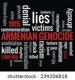 Armenian Genocide Word Cloud...