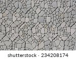 part of a stone wall  for... | Shutterstock . vector #234208174