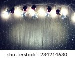 christmas ornaments  garland ... | Shutterstock . vector #234214630