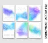 flyer  brochure design... | Shutterstock .eps vector #234235150