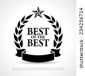 best of the best icon | Shutterstock .eps vector #234256714