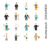 character icon flat profession... | Shutterstock .eps vector #234269854