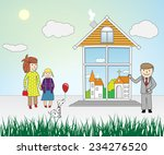 vector illustration of the... | Shutterstock .eps vector #234276520