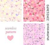 set of motley pink  pastel... | Shutterstock .eps vector #234313693