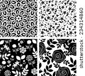 seamless patterns with... | Shutterstock .eps vector #234314860