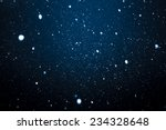 falling snow on the blue... | Shutterstock . vector #234328648