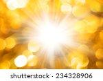 defocused gold abstract... | Shutterstock . vector #234328906