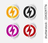 realistic design element ... | Shutterstock .eps vector #234329776
