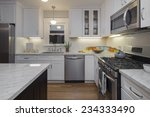 Kitchen In Modern Home With...