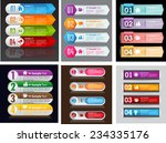 colorful modern text box... | Shutterstock .eps vector #234335176