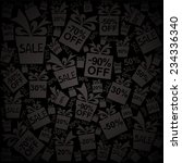 black friday. vector...   Shutterstock .eps vector #234336340