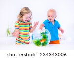 Two Children  Brother And...