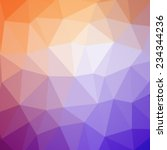 abstract colorful polygonal... | Shutterstock .eps vector #234344236