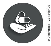 medical insurance sign icon....